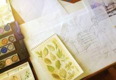 Trail Blazers Sketches