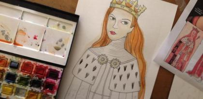 Anne Neville Painting