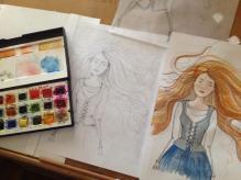 Alice Kyteler sketches