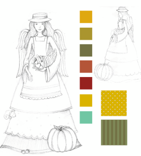 Product Sketches Garden Angel