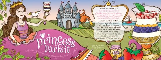 Princess Parfait Recipe