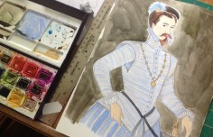 Robert Dudley Painting