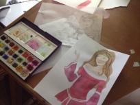 Isabel Gowdie Sketches