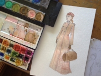 Nellie Bly Painting